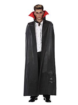 Capa Vampiro Negra Adulto