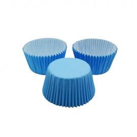 Cápsulas para Cupcakes Azules 24 Unidades