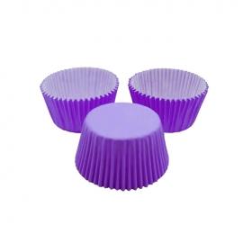 Cápsulas para Cupcakes Violetas 24 Unidades