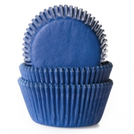 Cápsulas para cupcakes Jeans blue