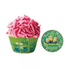 Cápsulas para cupcakes Minions