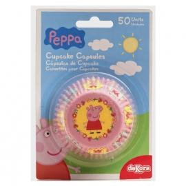 Cápsulas para cupcakes Peppa Pig