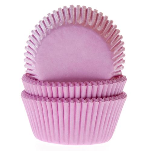 Cápsulas para cupcakes rosas Hose of Marie