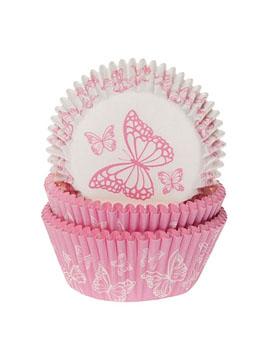 Cápsulas para Cupcakes Mariposa 50 unidades