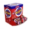 Caja Caramelo con Palo Relleno de Chicle Cereza 20 ud