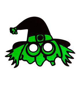 Máscara Bruja Verde - Miles de Fiestas