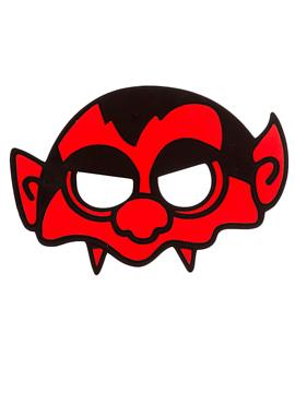 Máscara Vampiro Rojo - Miles de Fiestas