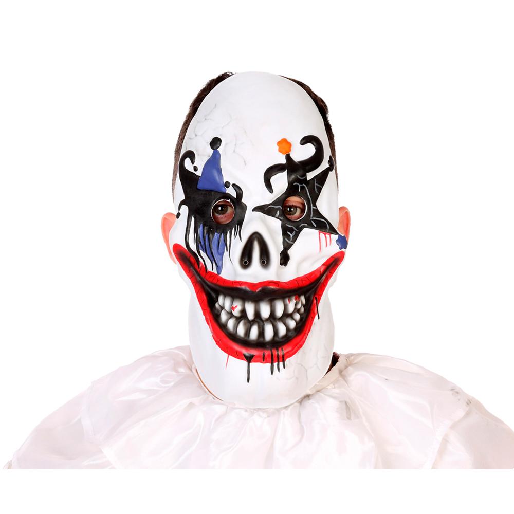 Careta Payaso Diabólico Halloween