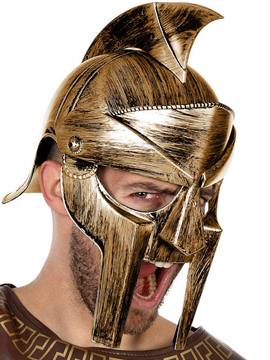 Casco Romano Gladiador Adulto
