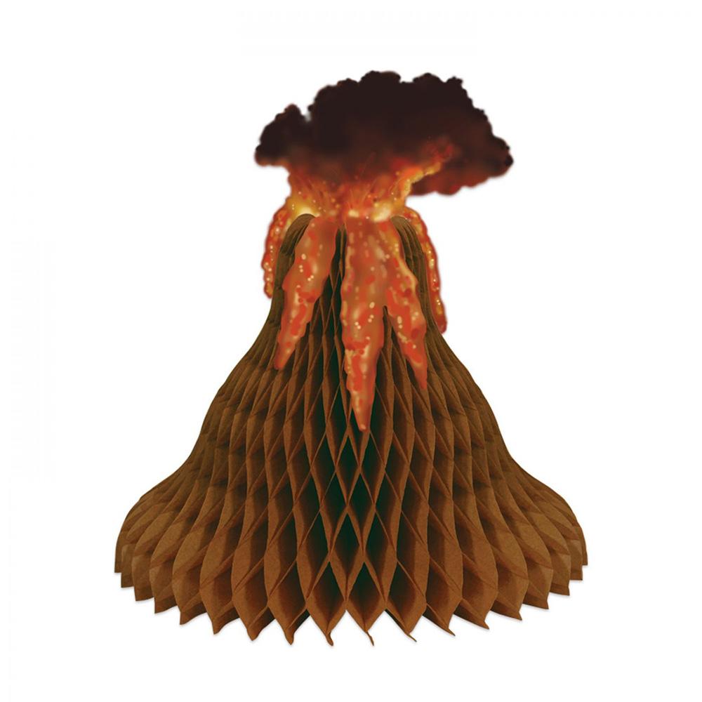 Centro de Mesa de Volcán