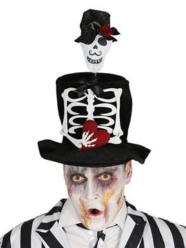 Chistera con Esqueleto Hombre