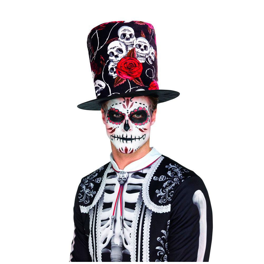 ▷ Chistera Día de los Muertos Halloween - Envíos en 24 H ✅ b6ba214c883