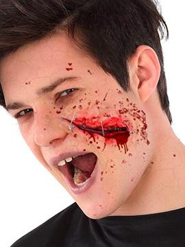 Cicatriz Falsa Herida Cara