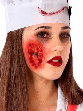 Cicatriz Falsa Herida Rostro