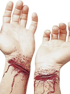 Cicatriz Falsa Muñecas Cortadas