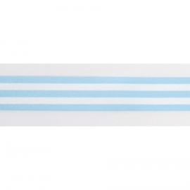 Cinta Satinada Stripes Blue (2 mts)