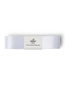 Cinta de Raso Doble Blanca 25 mm x 3 metros