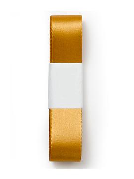 Cinta Doble de Raso color Oro