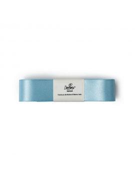 Cinta de Raso Doble Azul Claro 25 mm x 3 metros