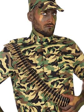 Cinturón Balas Militar