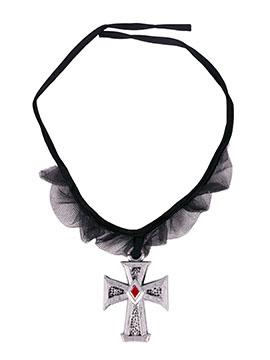 Collar Cruz Gótica