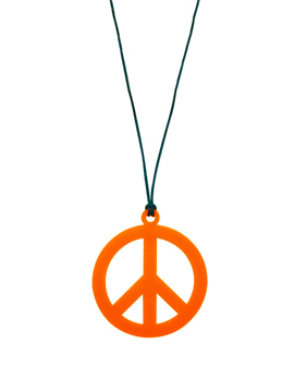 Collar Hippie Naranja