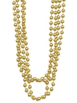 Set 4 Collares Perlas Doradas