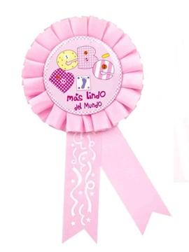 Condecoración Bebé Rosa