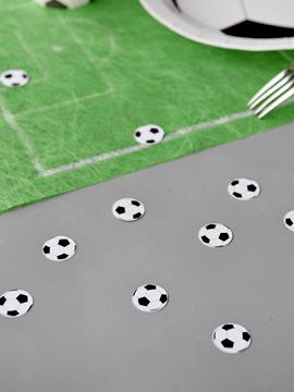 Confeti balón de futbol