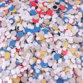 Confeti de Papel Multicolor - Miles de Fiestas