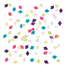 Confeti Rombos Multicolor