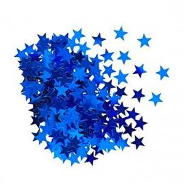 Confeti Estrellas Azules