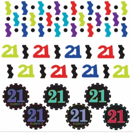 Confetti 21 Cumpleaños