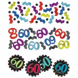 Confetti 60 Cumpleaños