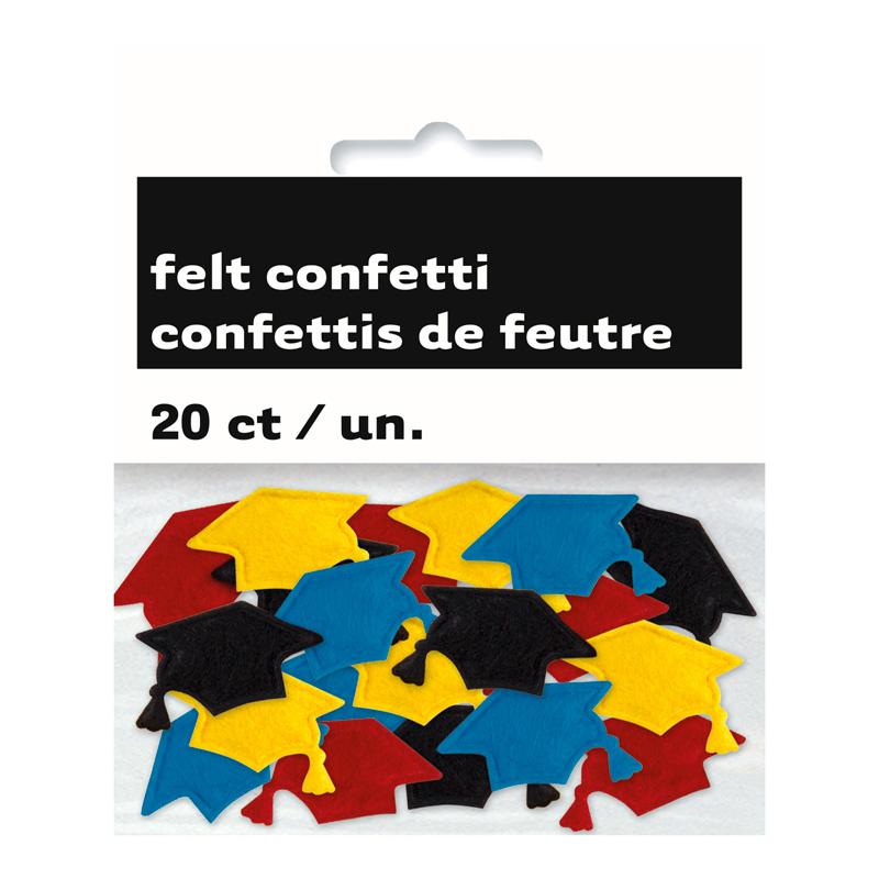 Confetti Birrete Graduado 20 unidades