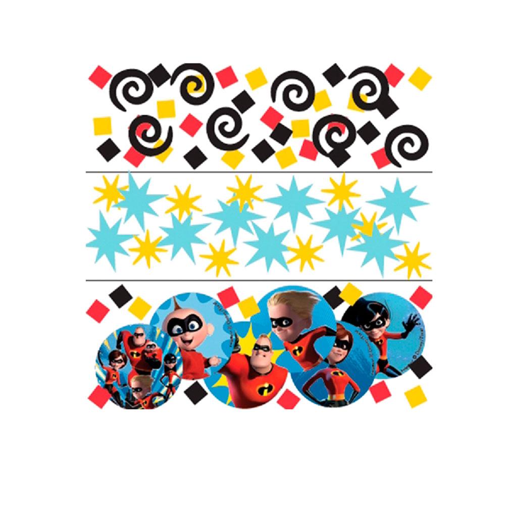 Confetti Los Increíbles 2