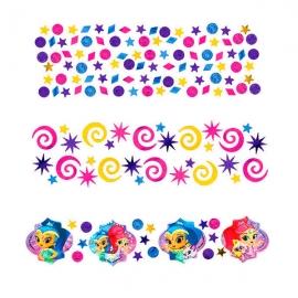 Confetti Shimmer y Shine