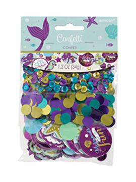 Confetti multicolor de sirena de 34 gramos