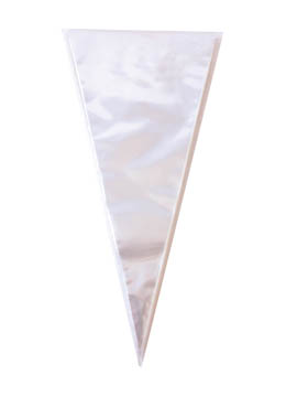 Set de 100 Conos para Chuches Transparentes 41 cm
