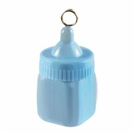 Contrapeso para globos biberón azul