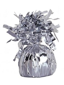 Contrapeso para globos de helio plata