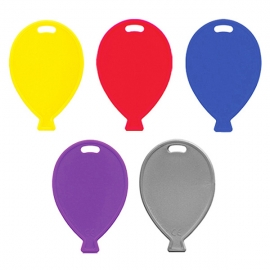 Contrapesos para globos 5 unidades