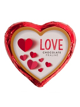 Corazón de Chocolate 7 cm