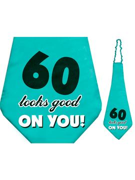 Corbata 60 cumpleaños 59 cm