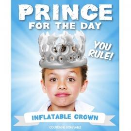 Corona de Príncipe inflable