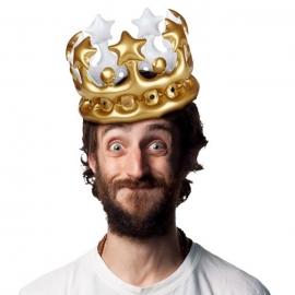 Corona de Rey Hinchable