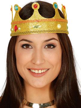 Corona Dorada Reina Fieltro