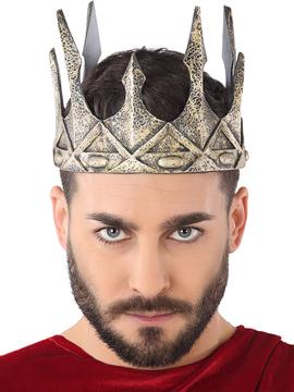 Corona Plateada Rey