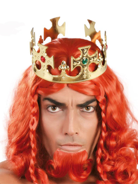 Corona Rey Dorada Adulto
