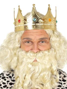 Corona Rey Mago Dorada Adulto